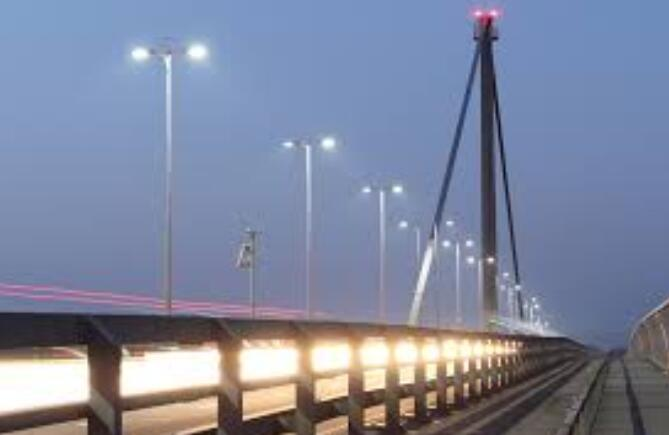 No Adverse Glare LED Street Lights 120lm / W Low Light Failure 5 Years Warranty