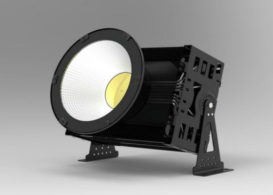 China High Mast LED Tennis Court Lights , 1000 Watt LED Flood Light  For Basketball Court supplier