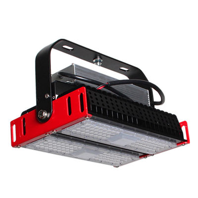 China Tunnel Heat Dissipation Modular LED Flood Light  200W Meanwell / UL Standard Driver supplier