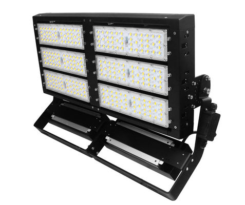 China 5050 Chip LED Stadium Floodlights , 600 Watt High Mast Floodlight 140lm / W supplier
