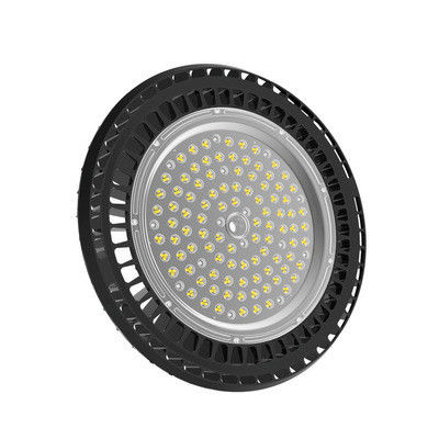 China Small Size UFO LED High Bay Light 100W For Logistics Centers / Exhibition Halls supplier