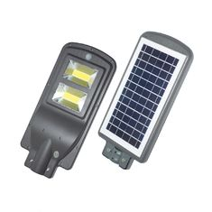 China IP65 20W 40W 60W All in one Solar Power Led Street Light With Pir Motion Sensor supplier