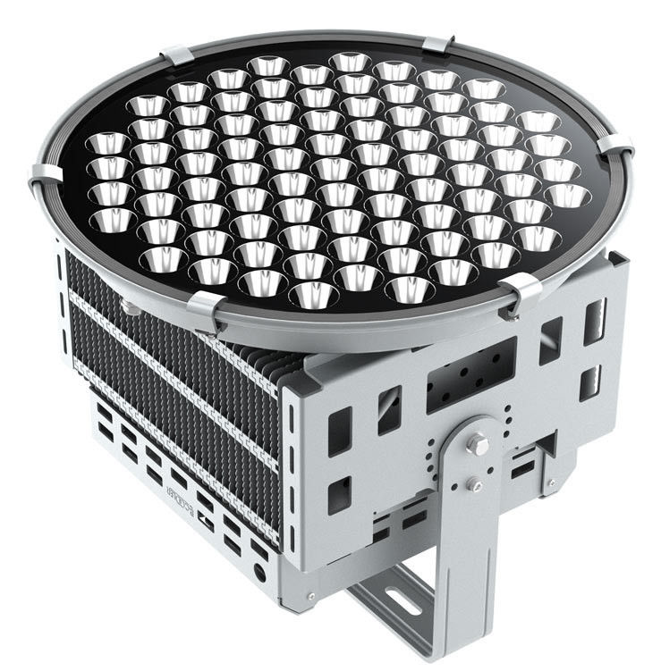 500w Led Sports Floodlights Fin Aluminum Wide Range
