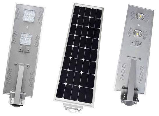 China Motion Sensor Solar LED Street Light 50w Waterproof IP66 Corrosion Resistance distributor