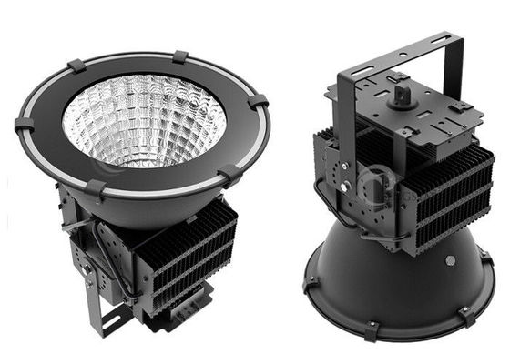 China Round Reflector LED Stadium Floodlights Long Lifespan 400 W Low Work Temperature distributor