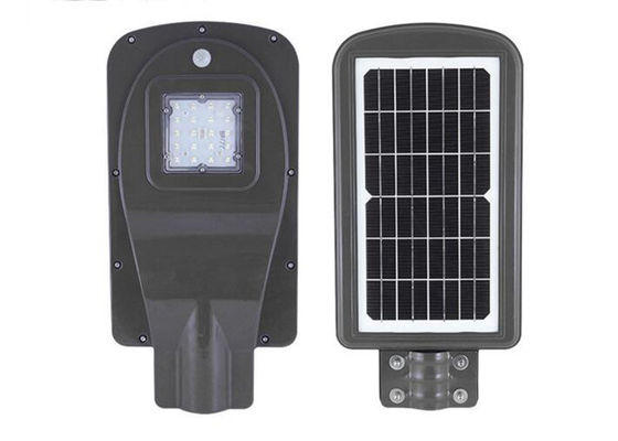 China Outdoor Commercial Solar Street Lights , 10w Solar LED Pathway And Street Light distributor