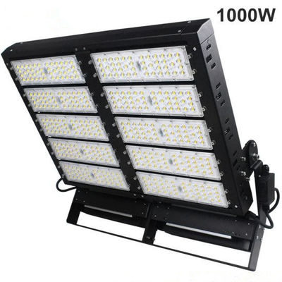 China IP66 3030 LED Stadium Floodlights Aluminum / Tempered Glass Material For Gas Station distributor